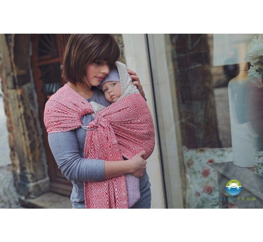 Ringling Little Frog Red Cube ring sling.