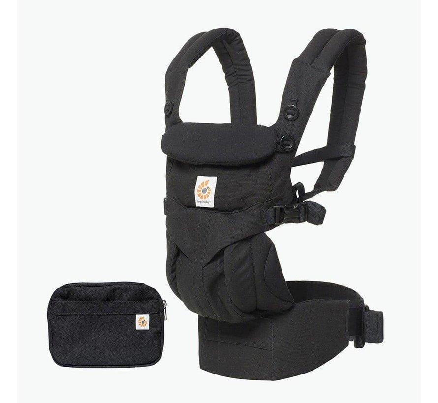Ergobaby Babytrage 4P  360 OMNI Pure Black
