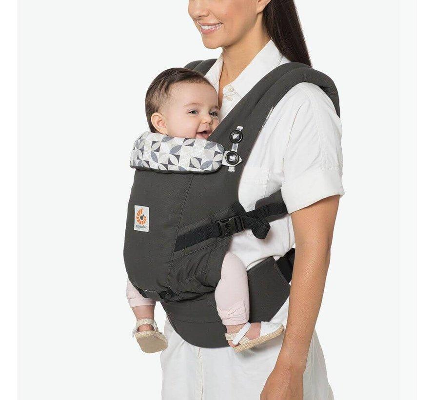 Ergobaby Babytrage 3P Adapt Graphic Grey