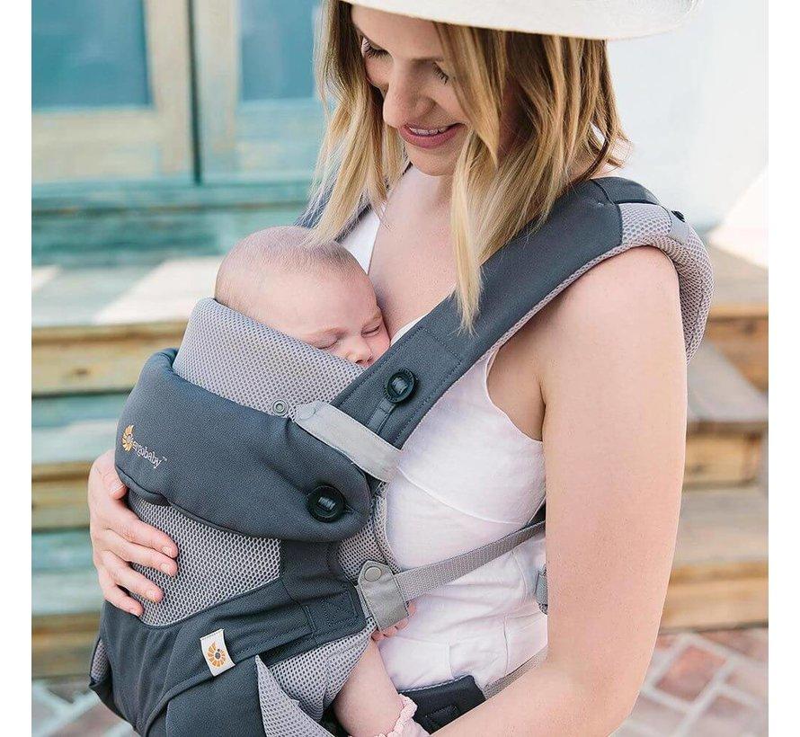 Ergobaby Baby Neugeborenen Einsätze Performance Grey