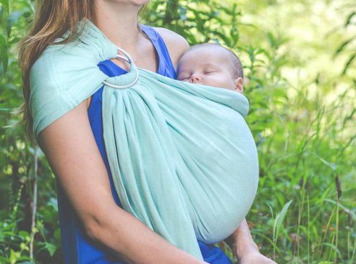 Pure Baby Love Pure Baby Love ring sling Mint