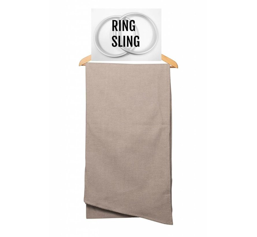 Pure Baby Love ring sling Taupe