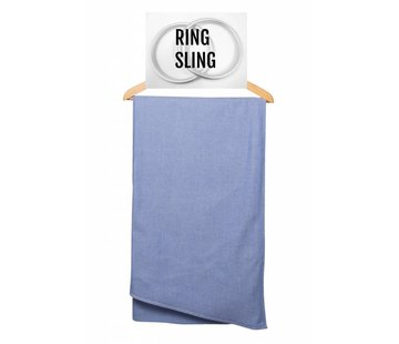 Pure Baby Love Pure Baby Love ring sling Royal Blue