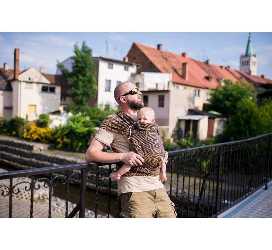 Didymos DidyKlick Metro Blue-Gold babytrage