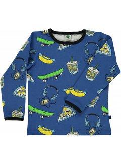 Smafolk Smafolk T-shirt with skater Strong Blue
