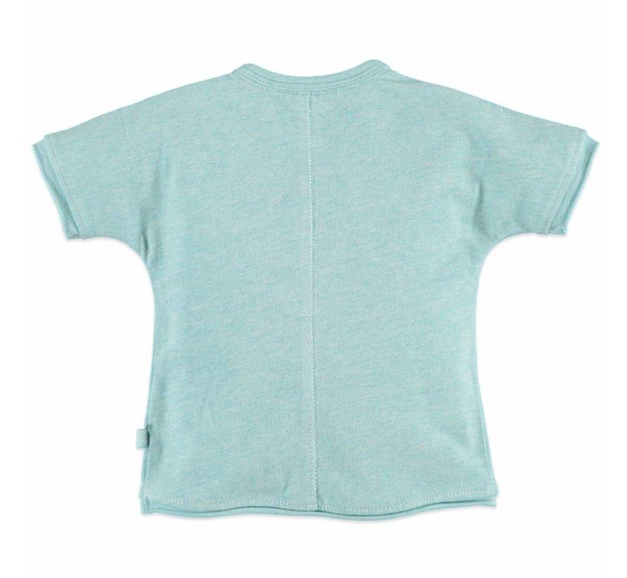 Babyface baby girls t-shirt sh.sl. GREEN MELANGE