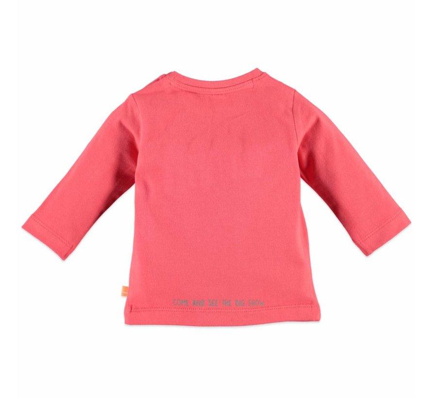 Babyface baby  t-shirt longsleeve BLOOD ORANGE