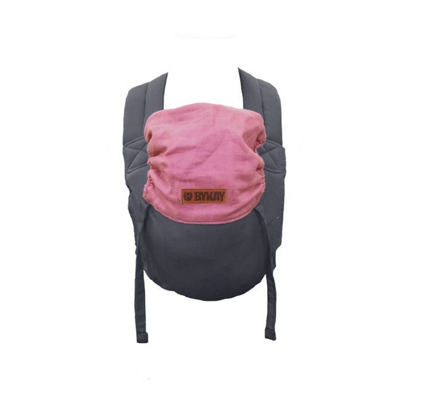 ByKay classic carrier reversible steelgrey/cotton candy