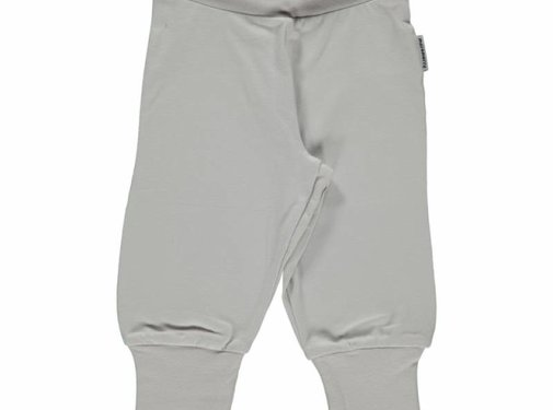 Maxomorra Maxomorra Pants Rib LIGHT GREY
