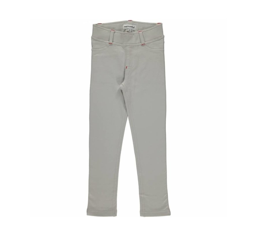 Maxomorra Treggings Sweat LIGHT GREY
