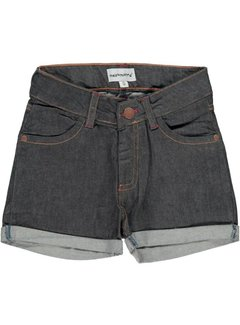 Maxomorra Maxomorra broek Short Denim DARK DENIM BLUE