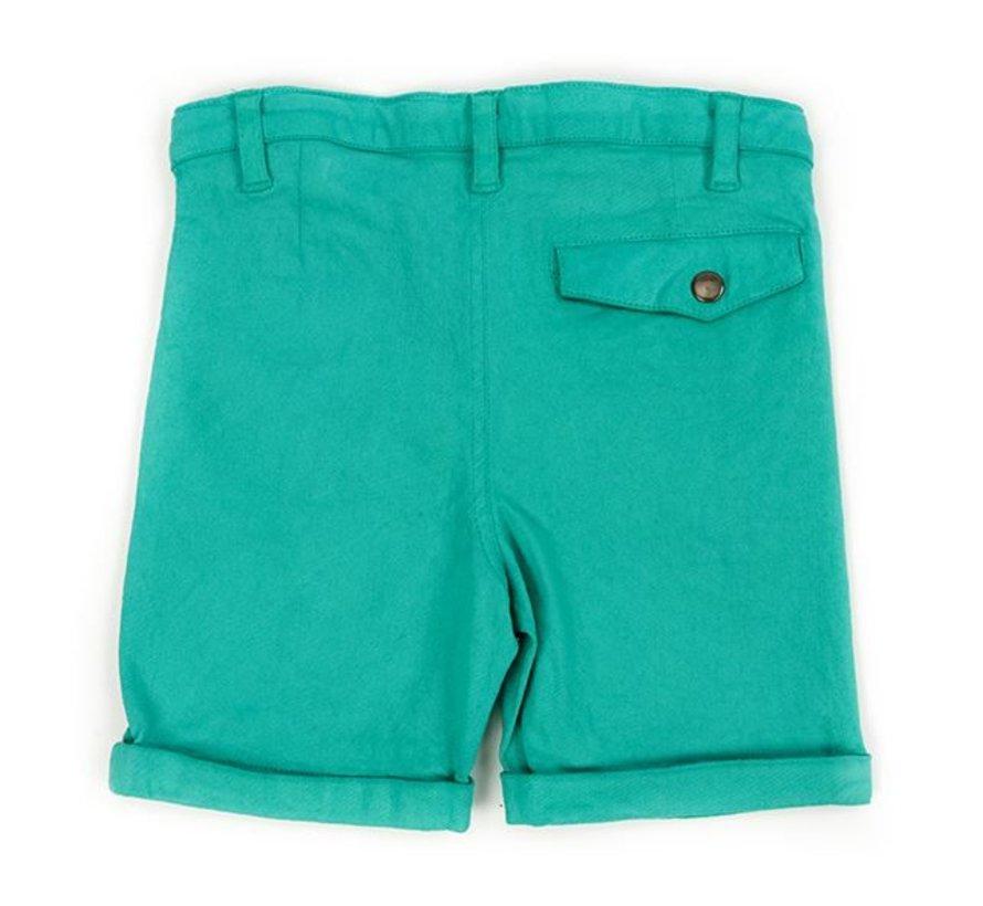 Lily Balou Twill Shorts Estebald Emerald