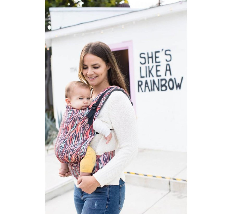Tula Free to Grow Storytail babycarrier.