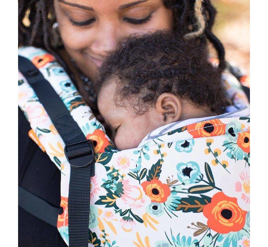 Tula Free to Grow Marigold babycarrier.