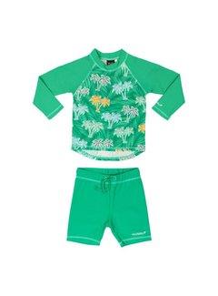Villervalla Villervalla UV SET (TOP+SHORTS) - PARAKEET
