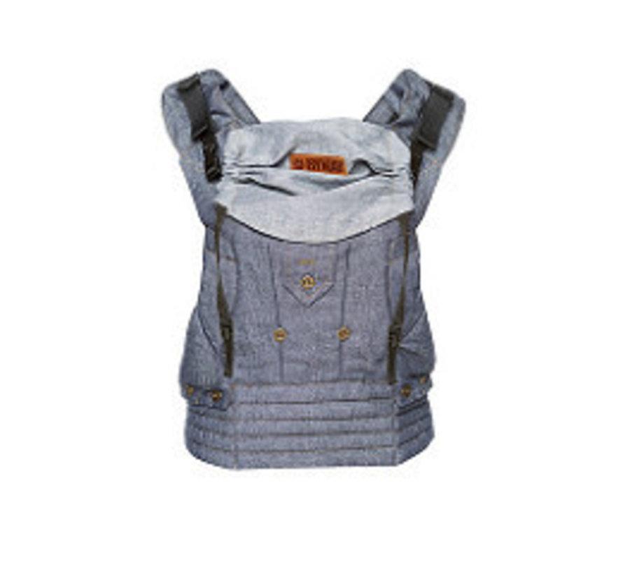 ByKay 4 way click carrier dark jeans denim