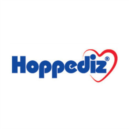Hoppediz Hop-Tye a mei tai baby carrier that can be used from birth.