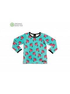 Villervalla Villervalla T-shirt L/S - WAVE