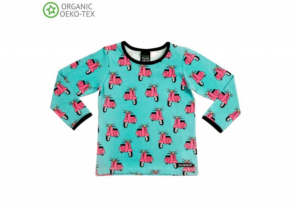 2d5b9577a7bb22 Villervalla T-shirt L/S - WAVE - Von Va Voom