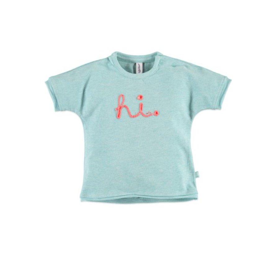 Babyface baby  t-shirt korte mouw  GREEN MELANGE