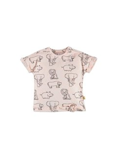 Babyface  Babyface baby  t-shirt korte mouw  PEACH MELEE