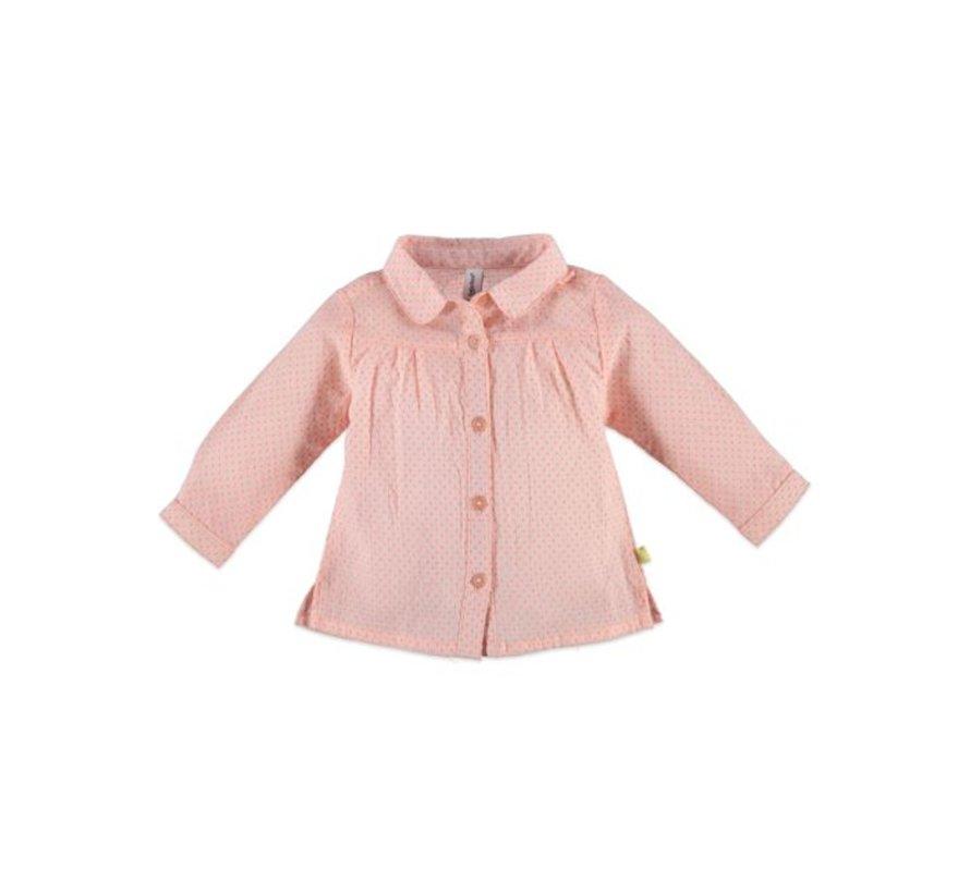 Babyface baby  blouse PEACH