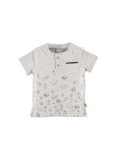 Babyface  Babyface baby  t-shirt korte mouw  COOL GREY MELEE