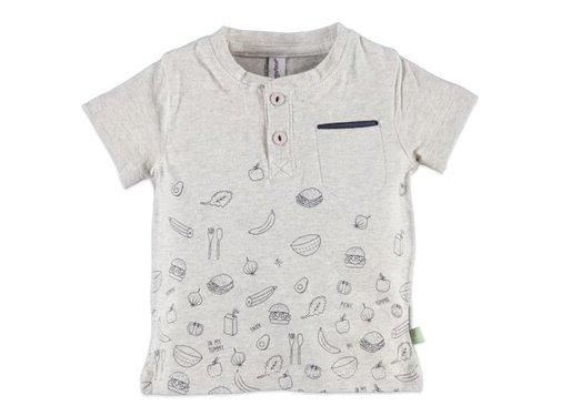 Babyface  Babyface baby boys t-shirt sh.sl. COOL GREY MELEE