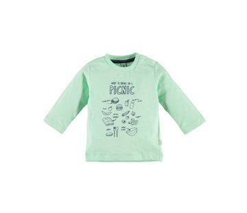 Babyface  Babyface baby boys t-shirt l.sl. PASTEL GREEN