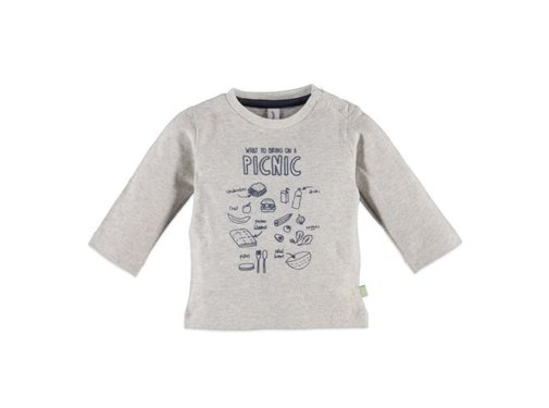 Babyface  Babyface baby boys t-shirt l.sl. COOL GREY MELEE