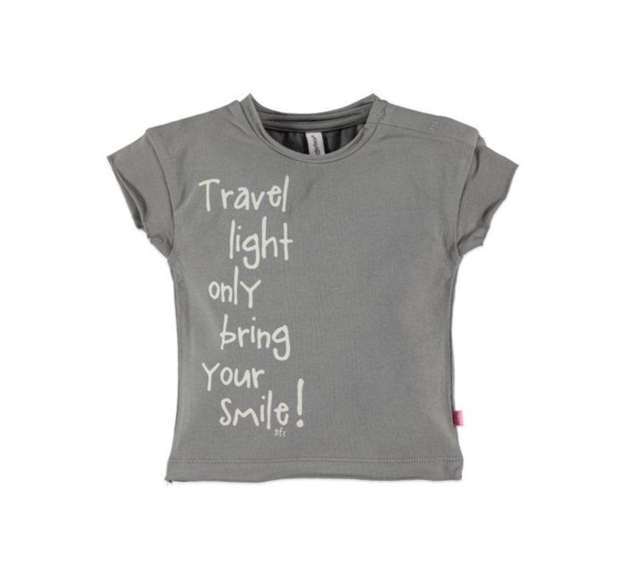 Babyface  t-shirt korte mouw  DESERT GREY