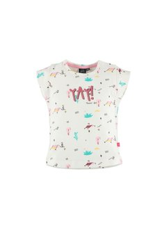 Babyface  Babyface girls t-shirt sh.sl. OFF WHITE