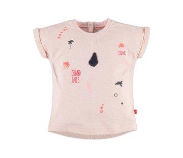 Babyface  Babyface  t-shirt korte mouw  LIGHT PINK MELANGE