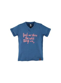 Babyface  Babyface boys t-shirt sh.sl. COBALT MELEE