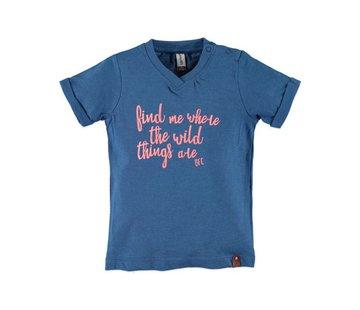 Babyface  Babyface  t-shirt korte mouw  COBALT MELEE