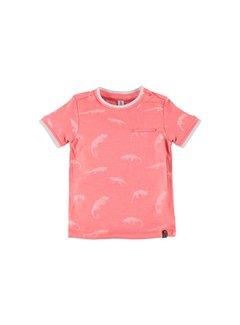 Babyface  Babyface boys t-shirt sh.sl. NEON CORAL