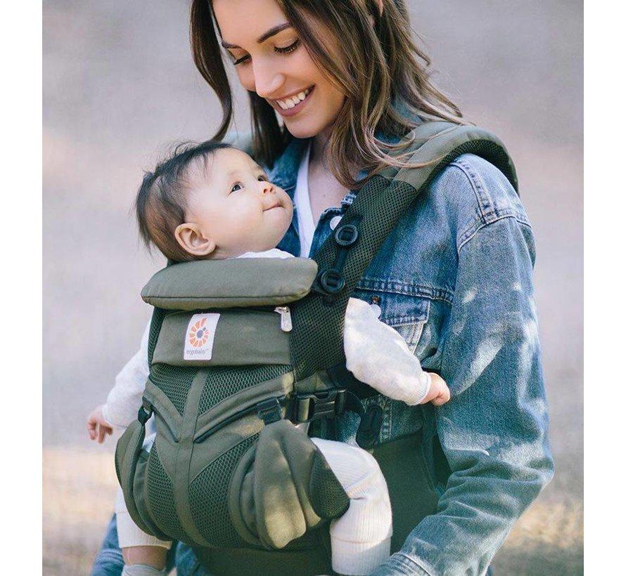 Babydraagzak 4P Omni 360 Air Mesh Khaki Green