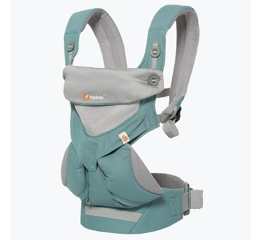 Erobaby draagzak 4P 360 Cool Air Icy Mint