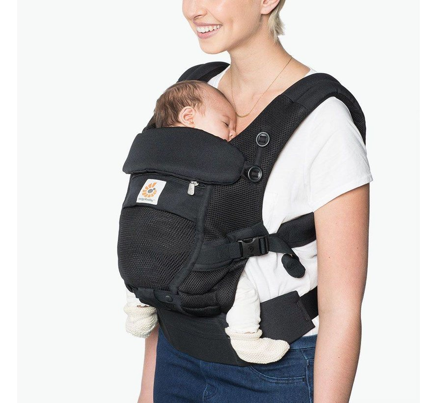 Ergobaby draagzak Adapt Cool Air Mesh - Onyx Black