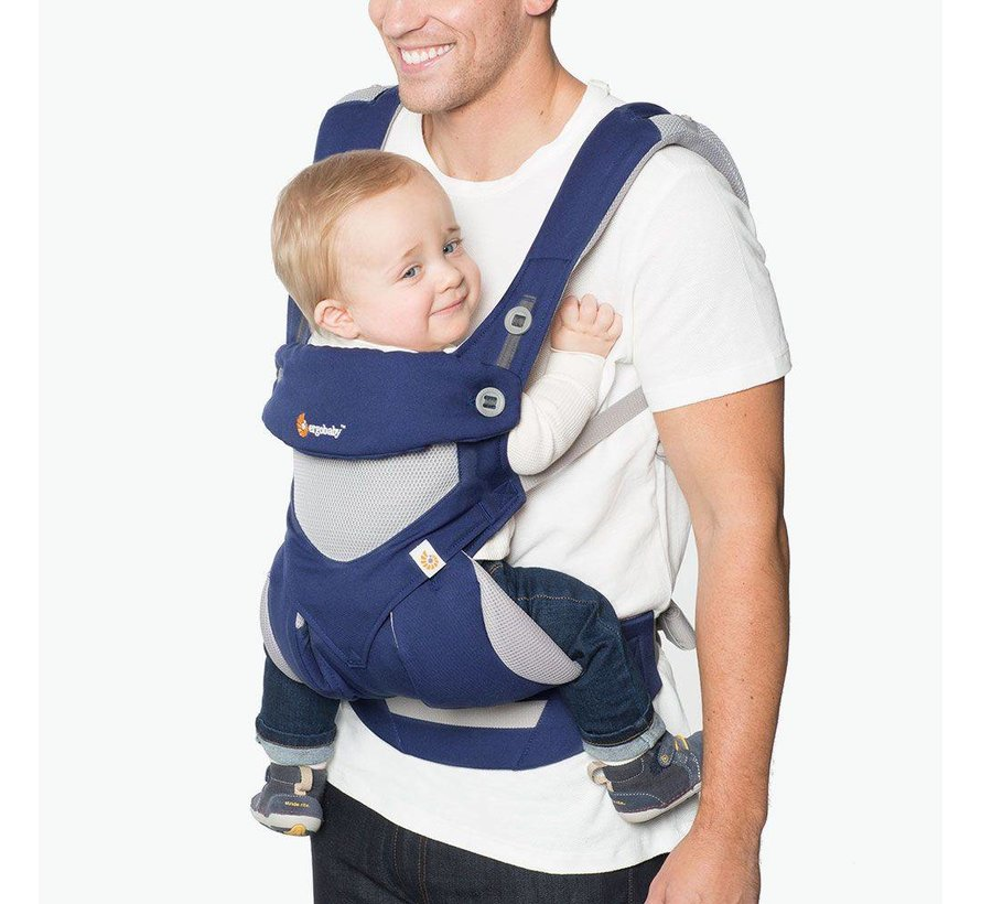 Ergobaby  babytrage 360 Cool Air French Blue