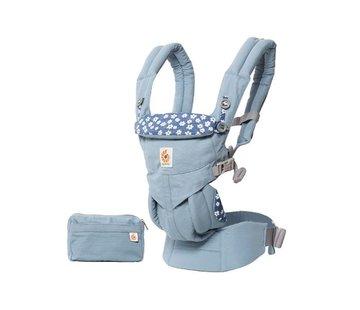 Ergobaby Babydraagzak 4P Omni 360 Blue Daisies