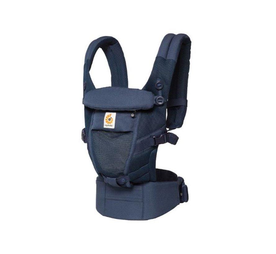Ergobaby babytrage Adapt Cool Air Mesh - Deep blue