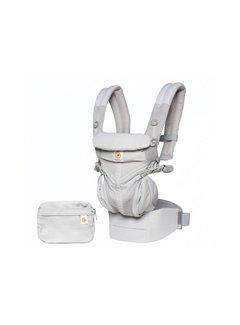 Ergobaby Babydraagzak 4P Omni 360 Air Mesh Pearl Grey