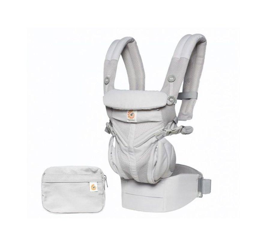 Babydraagzak 4P Omni 360 Air Mesh Pearl Grey