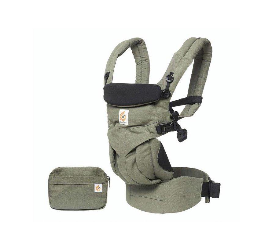Ergobaby Babytrage 4P  360 OMNI Khaki Green