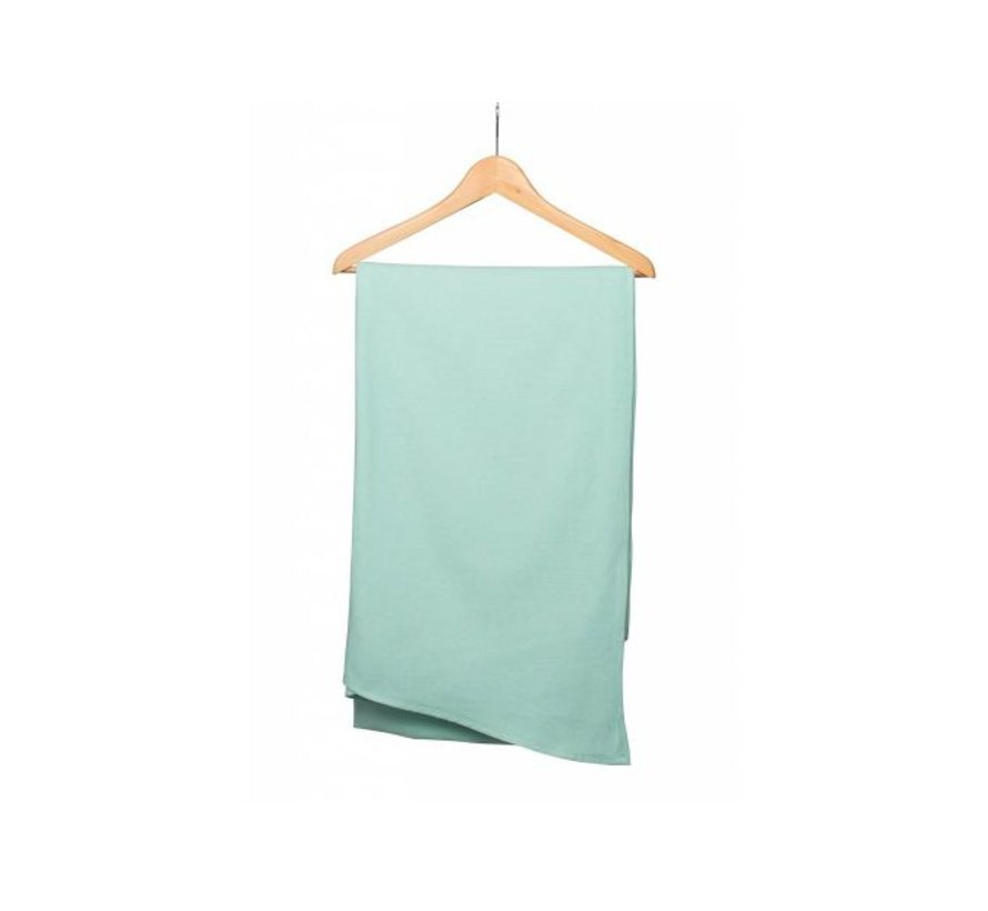 Woven baby wrap Pure Baby Love Mint.