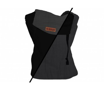 ByKay ByKay classic carrier reversible Black/mousegrey