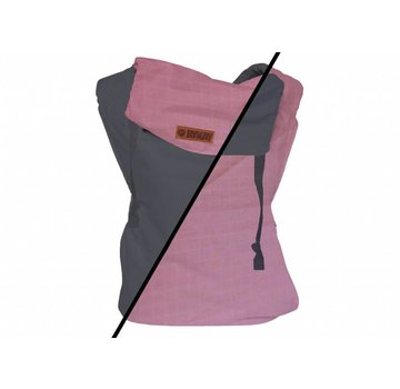 ByKay ByKay classic carrier reversible steelgrey/cotton candy
