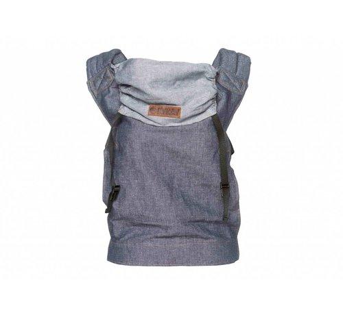 ByKay ByKay classic carrier dark jeans denim draagzak.