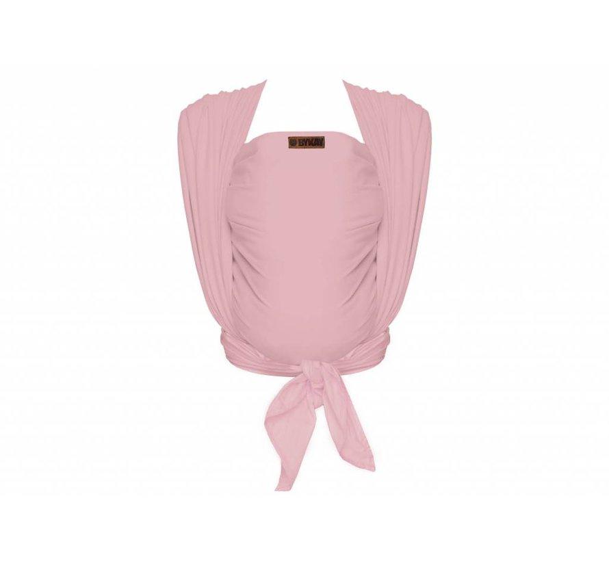 Bykay Woven wrap deluxe Vintage pink, geweven draagdoek.